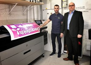 Stanford Marsh installs UK's first HP PageWide XL 5000 Printer at Go Cre8