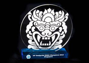 Stanford Marsh named HP DesignJet EMEA Champions for 2015!