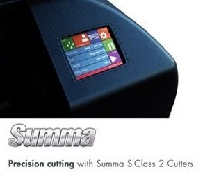 Summa Print Finishing Solutions and New Products at Sign & Digital 2013!