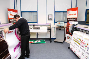 SMGG opens flagship showroom of Mimaki printers at their Bristol branch.