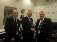 Award from HP - 'Designjet Elite,Top Technical Partner'