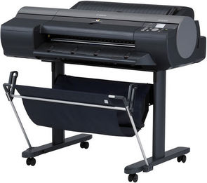 Canon iPF6300S imagePROGRAF Graphics Art Photo Printer: Canon iPF6300S with OPTIONAL STAND