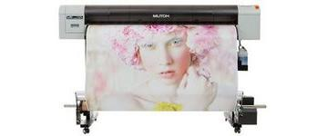 "Mutoh Value Jet 1324 with Bulk Ink system Mutoh VJ1324 54"" Eco Solvent Printer"