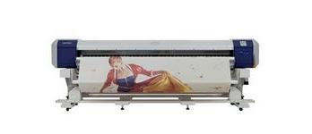 "Mutoh ValueJet 2628TD 104"" textile printer for soft signage"